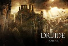 Druide, Olivier Peru, héroic fantasy, noir de chez noir, ces druides là auraient dû boire de la potion magique!