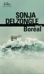 boréal,sonja delzongle,folio,thriller,thriller couteau suisse,écologie,ours polaire,inuit,mythologie,catastrophe écologique,rapports interhumains,conditions extrêmes