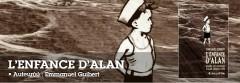 l'enfance d'alan,emmanuel guibert,alan ingram cope,biographie en dessins,souvenirs,avec tendresse,un hommage