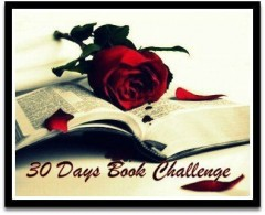 30 days book challenge,questions 1 à 7,sept novembre