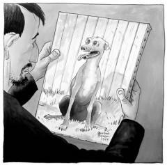 le chien qui louche,Davodeau,Louvre,droits d'entrée,qu'est ce qu'une oeuvre d'art,ce qu'il faut pas faire ou la belle famille et la personne qu'on aime, en avoir ou pas...